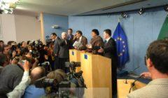 La conférence de presse du