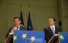 Sarkozy à la Commission européenne © NGV / B2