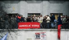 Manifestation sur la place Letna (© NGV)