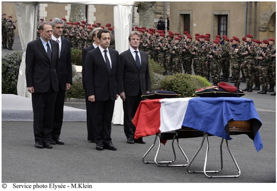 Hommage au premier soldat mort au Tchad