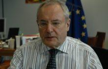 Jacques Barrot dans son bureau © NGV / B2
