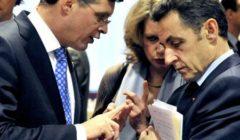 J. Balkenende et N. Sarkozy (crédit : CUE - archives B2, décembre 2008)