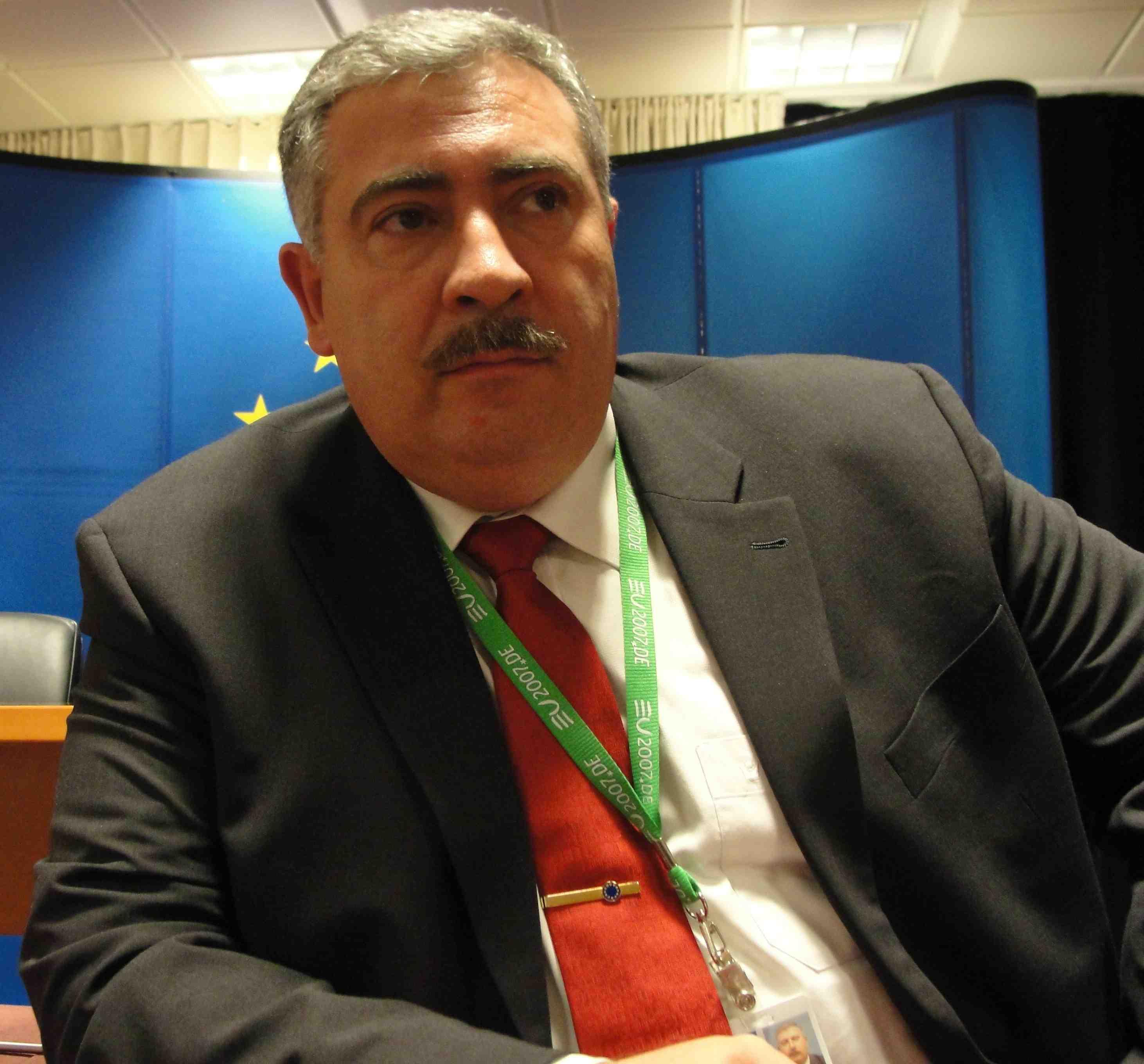 Entretien avec Adilio Custidio, chef de la mission Eupol Congo