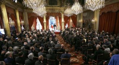 L'Europe doit être plus ambitieuse, dit Sarkozy. La France à l'avant-garde de la lutte anti-terroriste