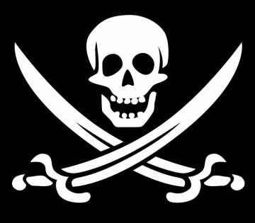Drapeau Historique Pirate - dekkadecom