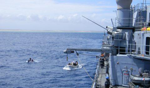 Un groupe pirates démantelé près des côtes somaliennes