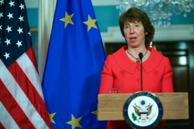 Cathy Ashton au Moyen-Orient, en direct de Washington