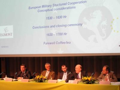 La seule coopération structurée permanente : l'armée européenne ?
