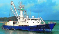 Les pêcheurs basques dégagent un navire marchand de l'attaque pirates