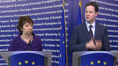 Pour Nick Clegg, la no fly zone suppose d'avoir résolu la question légale (ONU)