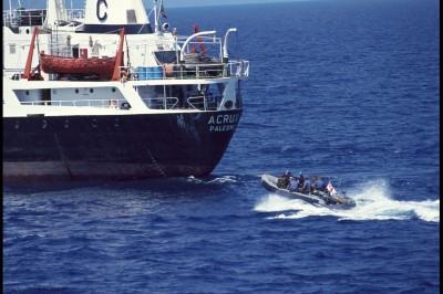 Quand l'UE(O) menait un embargo maritime conjoint avec l'OTAN. Un exemple pour aujourd'hui ?