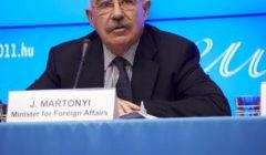 J. Martonyi (Hongrie) : régler la situation libyenne à long terme ne se résume pas à l'opération militaire