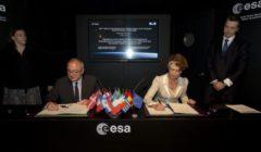L'agence européenne de défense signe un accord… spatial