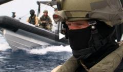 La libération d'un navire iranien en images