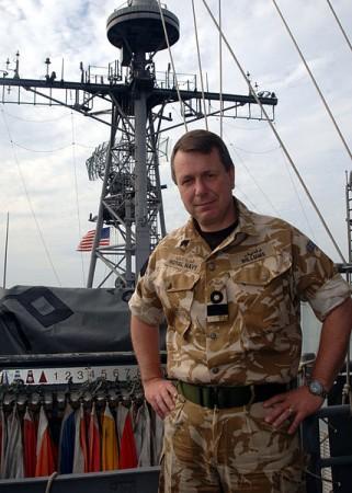 Un amiral britannique numéro2 de l'Etat-Major européen