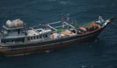 Un bateau mère libéré, deux marins iranien et pakistanais tués