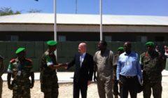 Trois officiers européens de haut rang à Mogadiscio