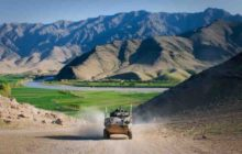 ASLAV frightens Taliban, protects soldiers
