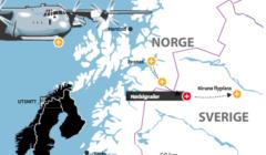 Un C-130 Hercules norvégien disparu des écrans radars (Maj5). Crash et décès confirmés