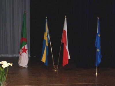Polonais et Suédois en «kot» à Alger
