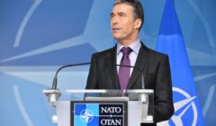 Meetings of the NATO Foreign and Defence Ministers at NATO Headquarters, Brussels- Arrival NATO Secretary General