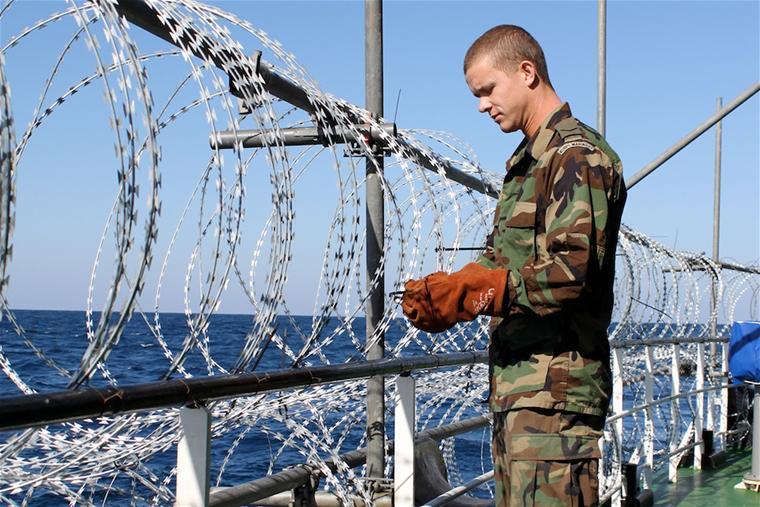 Les fusiliers marins néerlandais inaugurent le concept de aVPD
