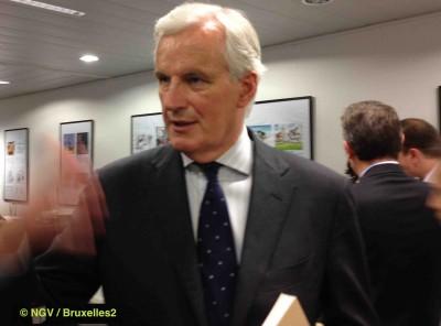 Et pourquoi pas créer un marché intérieur au Proche-Orient, dit Michel Barnier