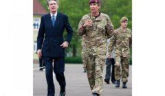 L'Allemagne ne doit plus avoir peur de déployer ses forces, dit Ph Hammond (UK)