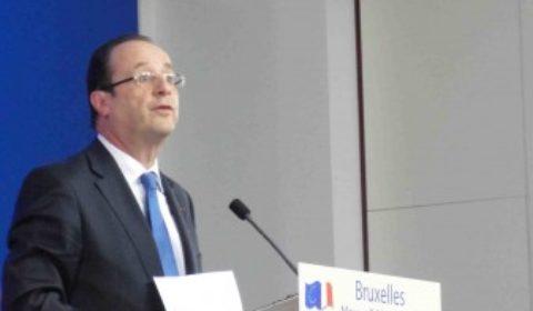 François Hollande, un changement de style, plus européen