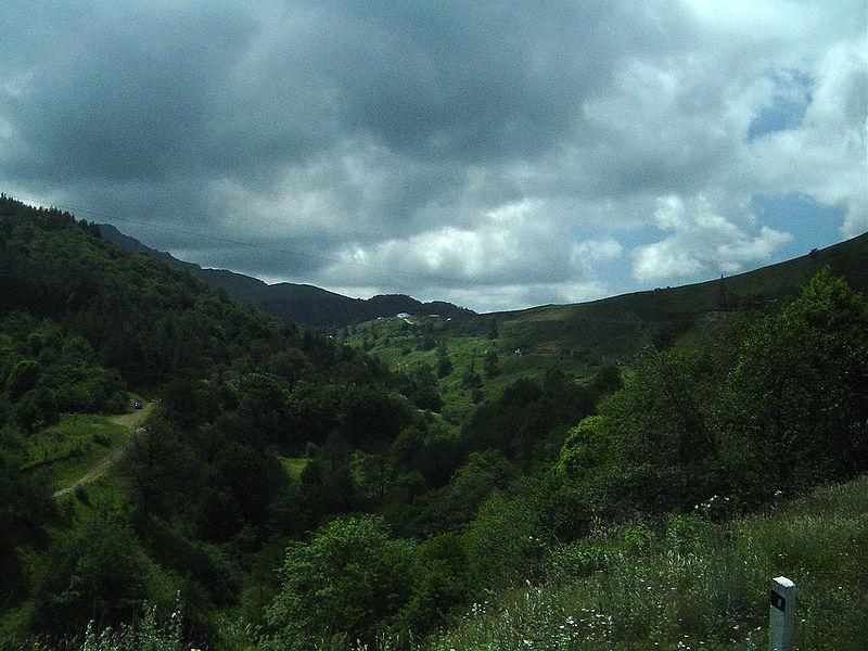 Les montagnes du Nagorno-Karabakh (Crédit: wikipédia)