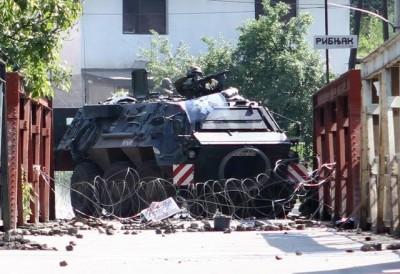 Deux soldats de la KFOR et trois serbes blessés au Kosovo