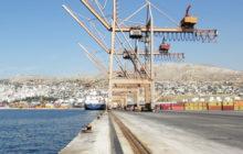 le terminal container du Pirée racheté par le Chinois Cosco (crédit : Tractebel)