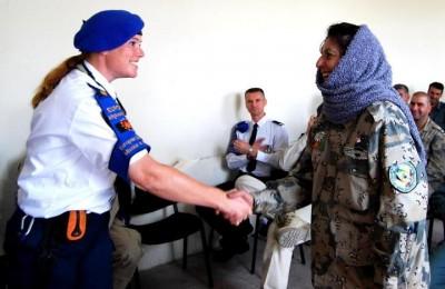 Pas assez de femmes dans les missions de maintien de la paix, comment faire ?