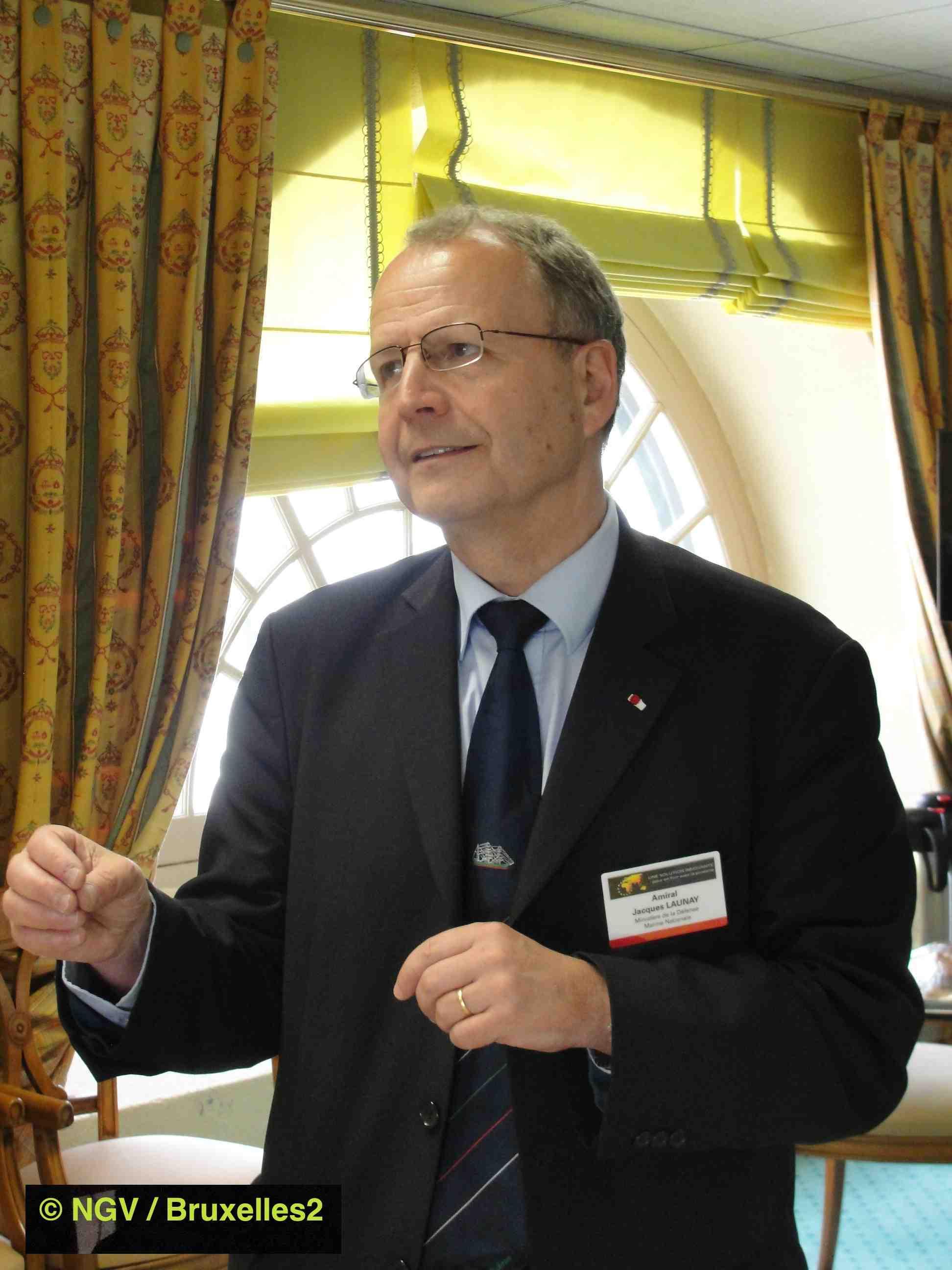 Amiral Launay (EUCAP Nestor). Objectif : «faire travailler ensemble»