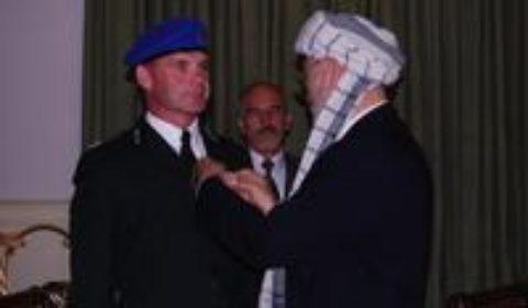 Un nord-irlandais à la tête de la mission EUPOL Copps