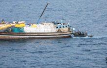 Quatre jours de traque le long des côtes somaliennes