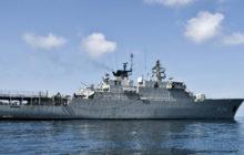 Le HMS Carlkrona de retour dans le Golfe en 2013