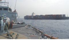 Malgré les JO, la marine britannique conserve un oeil sur la piraterie. Si si…