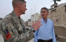 DEFENCE SECRETARY VISITS AFGHANISTAN AS CHANGEOVER OF BRITISH BRIGADES BEGINS