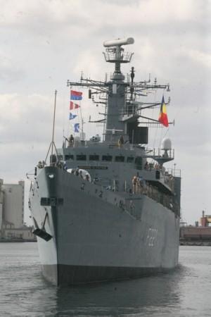Des Roumains à bord