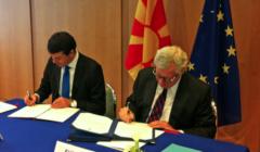 UE/Macédoine : Signature de l'accord de participation aux missions de gestion de crise