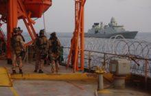 Un navire danois secouru de justesse des pirates par des compatriotes