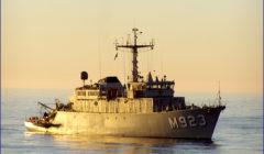Le commandement belge de la force anti-mine de l'Otan rentre au port