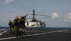 Les Russes libèrent des Italiens dans le Golfe d'Aden. Exercice…