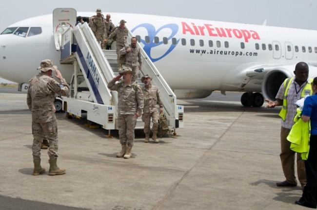 EUTM Mali. Les formateurs espagnols arrivent …