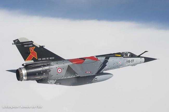 Les Mirage français prennent l'air, coté balte