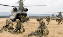 Exercice Joint Warrior 2013: c'est parti