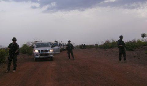 Premier exercice «terrain» pour l'unité polonaise de formation logistique à EUTM Mali