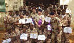 La garde nationale malienne formée au renseignement tactique