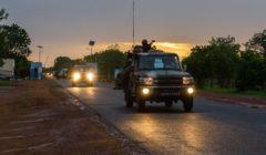 Le départ du bataillon Waraba de Koulikoro le 22 juin (Crédit : EUTM Mali)
